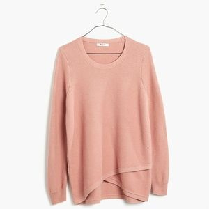 Madewell Pullover Sweater Blush